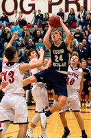 Bishop Heelan vs Le Mars Varsity Boys Basketball 2017
