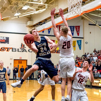 Bishop Heelan vs Sioux City East Boys Basketball 2018