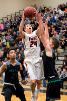 Sioux City West vs Sioux City East Boys Basketball 2018